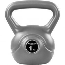 MOVIT® 1 kg Kettlebell šedá