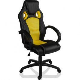 RACEMASTER® GS série kancelářská židle - černá/žlutá