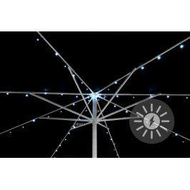 Garthen D36958 Solární blikající řetěz pro osvětlení slunečníku - 72 LED