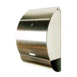 Tuin 1230 Poštovní schránka leštěná nerez 33 x 48 x 17 cm