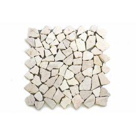 Divero Garth 9523 Mramorová mozaika krémová 32 x 32 cm