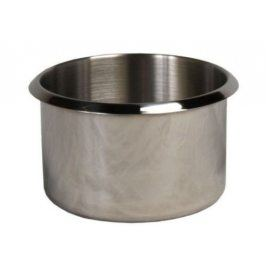 Cup holder - stříbrný