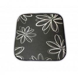 sun garden SABA 30200-700 Sedák na křeslo - šedý s květy