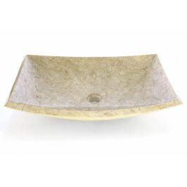 Kamenné umyvadlo - leštěný mramor - obdélník