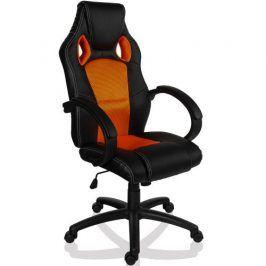 RACEMASTER® GS Series 9503 Otočná kancelářská židle ORANŽOVÁ