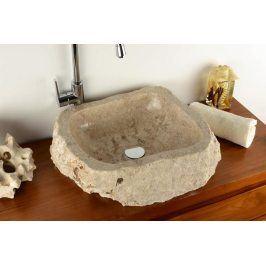 Divero Tortona 2210 Umyvadlo z přírodního kamene