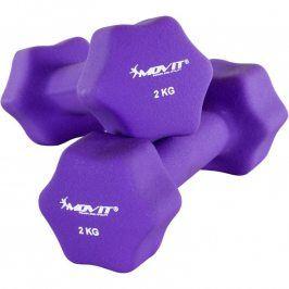 MOVIT Neoprenové činky 2x 2 kg