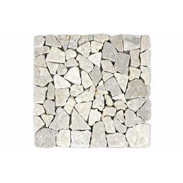 Divero Garth 1657 Mramorová mozaika - krémová 1 m2 - 30x30x1 cm