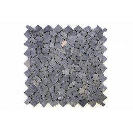 Divero Garth 678 Mramorová mozaika šedá obklady 1 m² - 55,5 x 55,5 cm