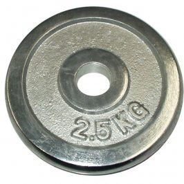 CorbySport 4762 Kotouč chrom 2,5 kg - 30 mm