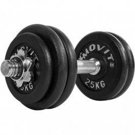 MOVIT 32887 Jednoruční činka litinová 30 kg