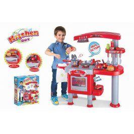 G21 kuchyňka velká s příslušenstvím červená