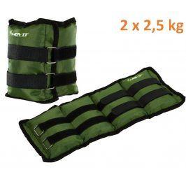 MOVIT 31950 zátěžové manžety, 2 x 2,5 kg zelená