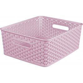 CURVER 41153 Košíček  box - M - růžový