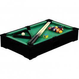 Tuin 40540 Mini kulečník pool s příslušenstvím 51 x 31 x 10 cm - černý
