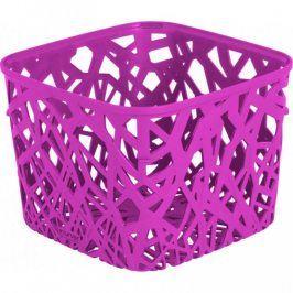 CURVER NEO SQUARE 32976 Plastový košík - fialový