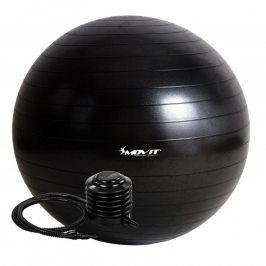 MOVIT 54098 Gymnastický míč s pumpou - 85 cm - černý