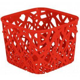 CURVER NEO SQUARE 32256 Plastový košík - červený