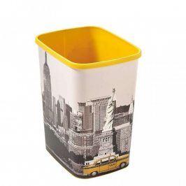 Odpadkový koš Curver Deco Flipbin New York 25 l