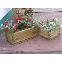 Tradgard 2701 Dekorativní obdélníkový květináč malý