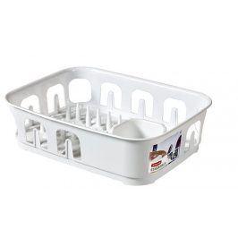 CURVER ESSENTIALS 31853 Odkapávač nádobí obdélník - bílý