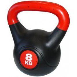 CorbySport 29137 Činka kettlebell s cementovou náplní - 8 kg