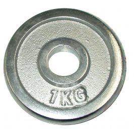 CorbySport 4751 Kotouč chrom 1kg - 25 mm