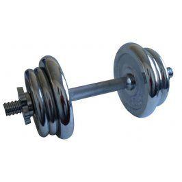 CorbySport 4557 Činka nakládací, jednoruční, chromová - 11 kg