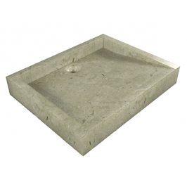 Indera Belua Cream 55378 Umyvadlo z přírodního kamene