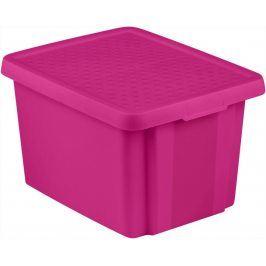 CURVER Úložný  box  s víkem 26L - fialový