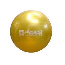 CorbySport 39984 Gymnastický míč 650 mm žlutý