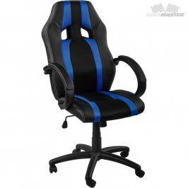 RACEMASTER® GS Tripes Series 39167 Kancelářská židle černá/modrá