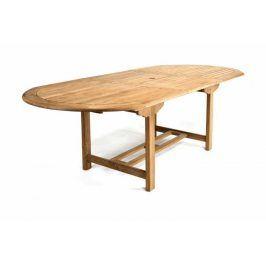 Garthen 1093 Rozšiřitelný zahradní stůl z týkového dřeva , 170 - 230 cm