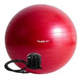 MOVIT 54113 Gymnastický míč s pumpou - 75 cm - červená