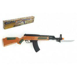 Teddies pistole samopal na kuličky 56 cm plast v krabici