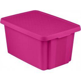 CURVER Úložný box s víkem  45L - fialový