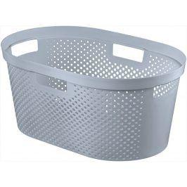 CURVER 41087 Koš na čisté prádlo - šedý 39L