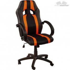 RACEMASTER® GS Tripes Series 39173 Kancelářská židle černá/oranžový