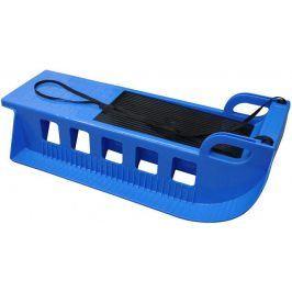 CorbySport Kamzík 32620 Plastové sáně - modrý