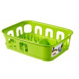 CURVER ESSENTIALS 31852 Odkapávač nádobí čtverec - zelený