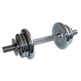 CorbySport 4562 Činka nakládací, jednoruční, chromová - 7 kg