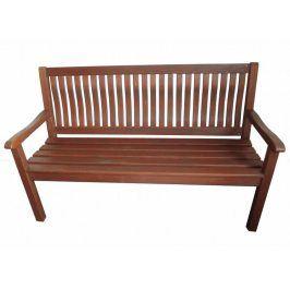 Tradgard BOSTON 2746 Zahradní lavice tmavě hnědá FSC