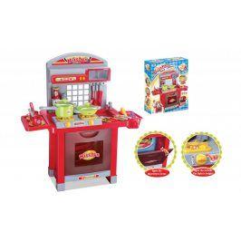 G21 Superior 52046 Dětská kuchyňka s příslušenstvím červená