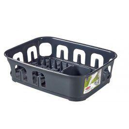 CURVER ESSENTIALS 31855 Odkapávač nádobí obdélník - tm.šedý