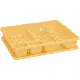 CURVER BIG 31835 Odkapávač nádobí s podnosem - žlutý