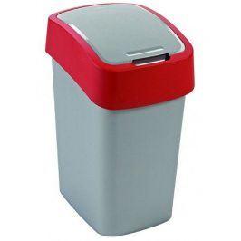 CURVER FLIPBIN 31349 Odpadkový koš 10l - červený