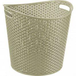 CURVER MY STYLE RATTAN 30445 Koš na prádlo 30 l krémová