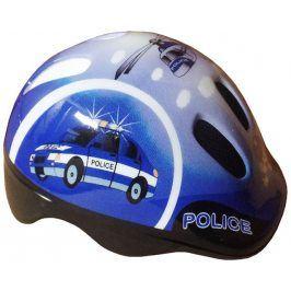 Brother 6498 Cyklistická dětská helma modrá velikost XS (44/48 cm) 2017