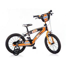 CorbySport Dino BMX 165XC černo - oranžové 16