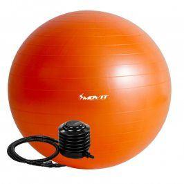 MOVIT 54115 Gymnastický míč s pumpou - 75 cm - oranžová